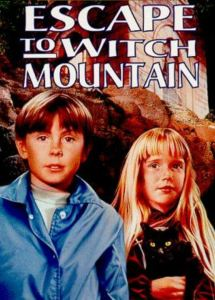 Escape to Witch mountain Disney movie poster John Hough