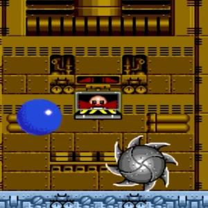 Sonic the Hedgehog 2 Mecha Sonic boss battle Dr robotnik Dr Eggman Sega genesis Sega mega drive