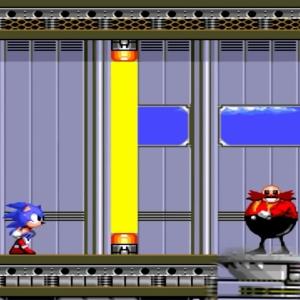 Barrier Eggman Sonic the Hedgehog 2 Sega genesis Sega mega drive
