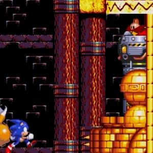 Dr robotnik Egg Golem sonic & Knuckles  Sega Genesis Sega Mega drive