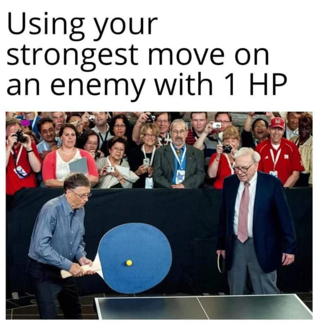 Memes RPG video games strongest move