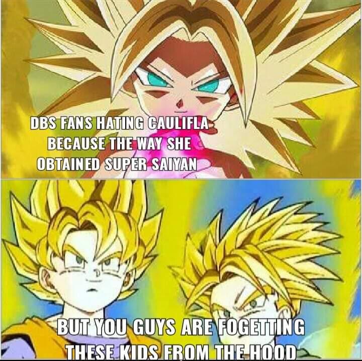 Memes caulifa Dragon Ball super Dragon Ball Z super Saiyan