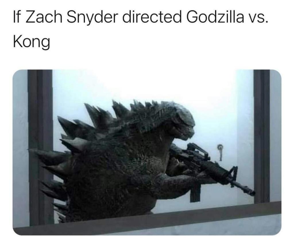 Memes King Kong versus Godzilla zack Snyder