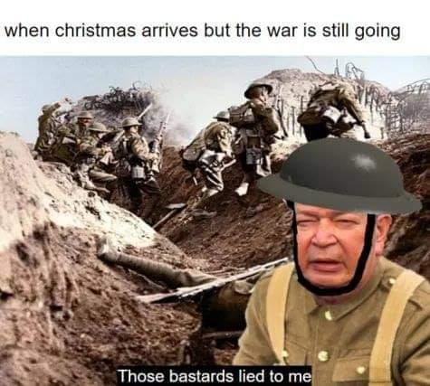Memes World war one Christmas