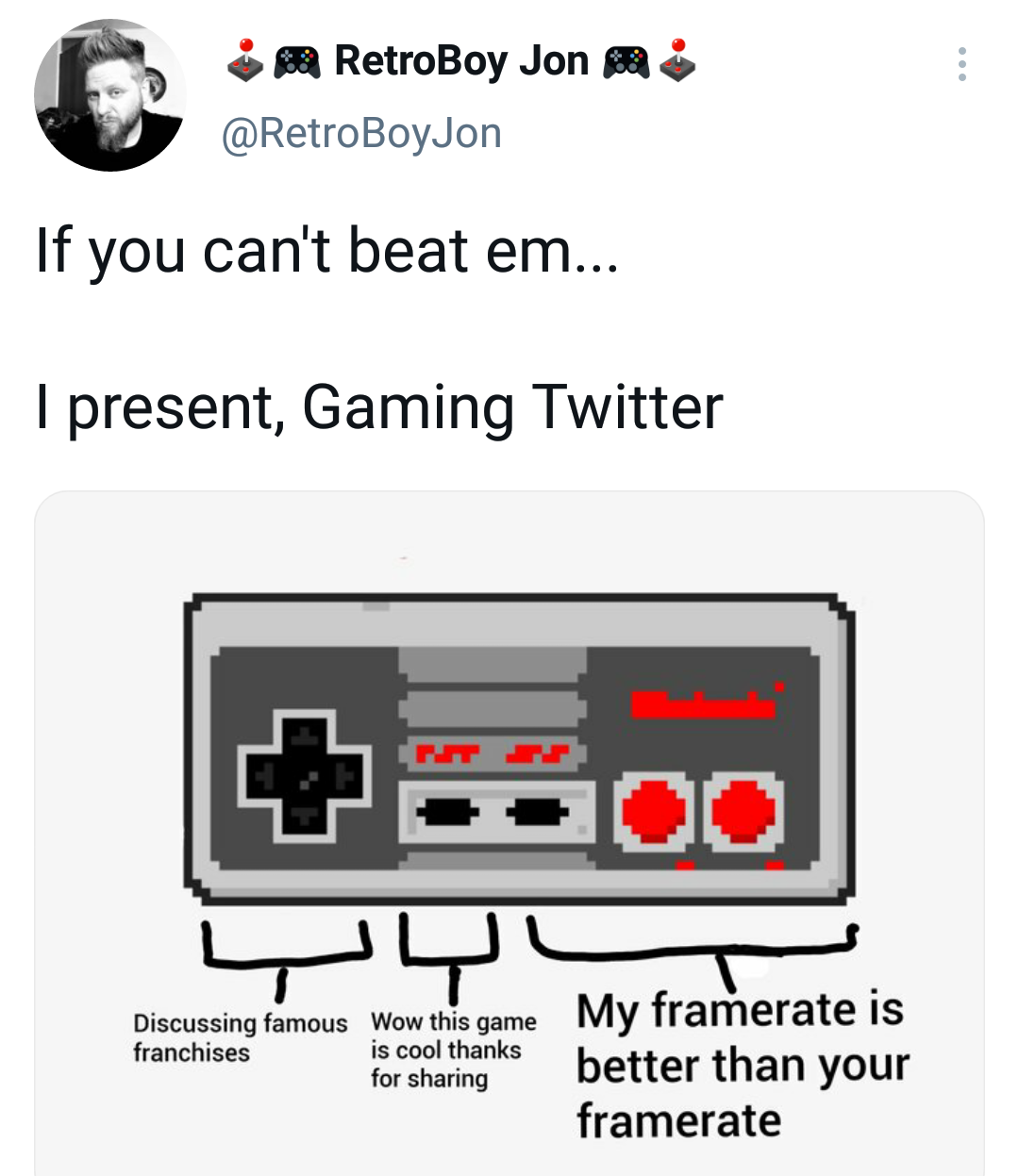 Memes Toxic gamers on Twitter