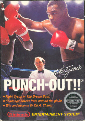 Mike tysons punch out nes boxart North America