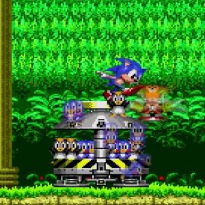 Animals freed penguins and flicky birds Sonic the Hedgehog 2 Sega genesis Sega mega drive