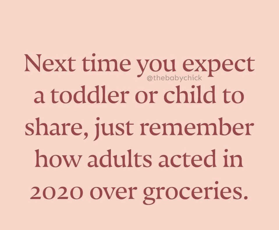 Memes 2020 shopping for groceries