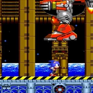 Sonic the Hedgehog 2 Death Egg boss battle Sega genesis Sega mega drive
