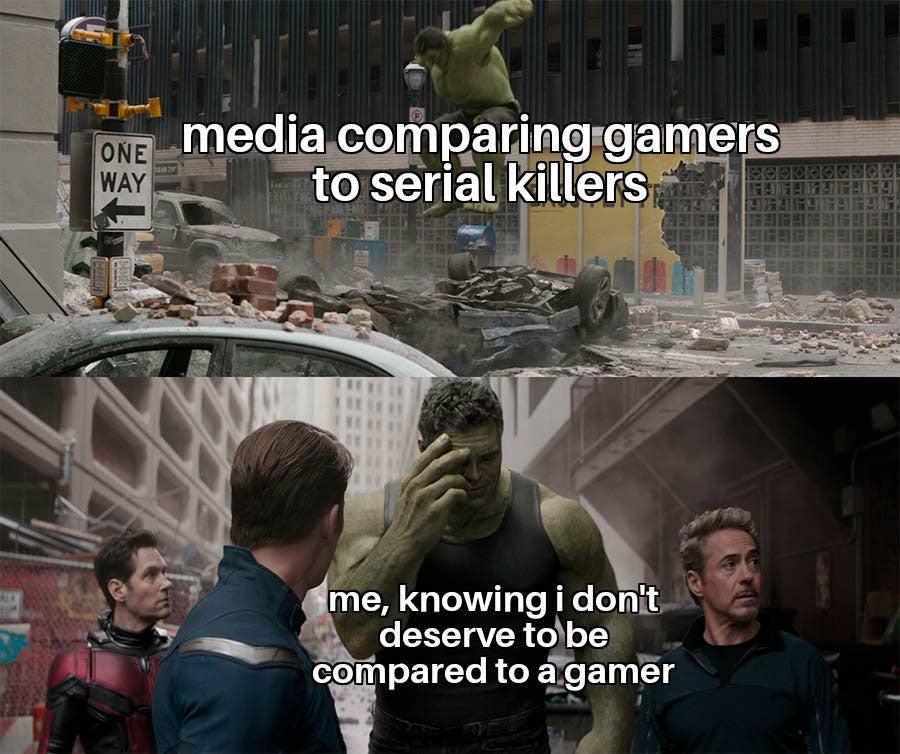 Memes Video gamers