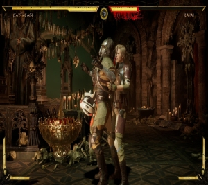 Mortal Kombat 11 Cassie cage vs Kabal Nintendo switch Xbox One PS4 PlayStation 4 WB Games