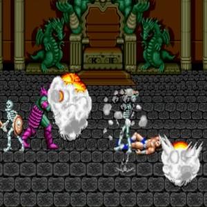 Death Bringer victorious golden axe Sega genesis arcade Sega mega drive