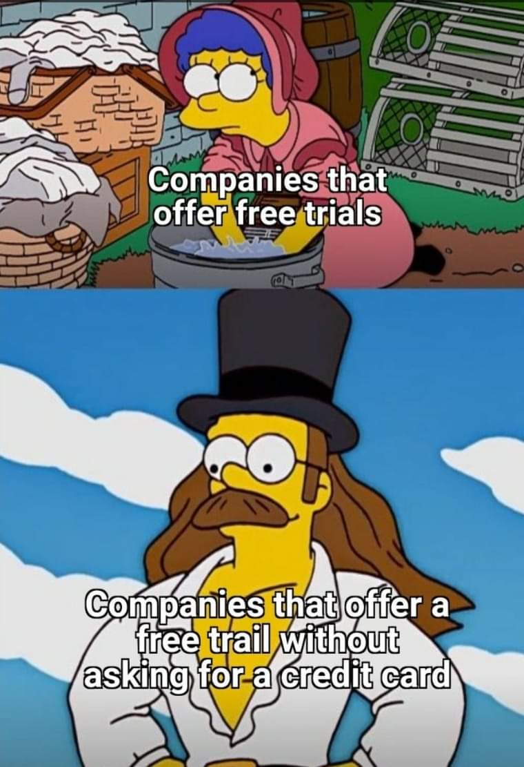 Memes Free trial without credit card
