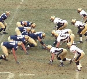 Classic American football game