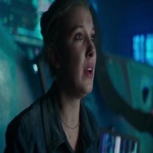 Madison Russell finds mechagodzilla Godzilla vs. Kong Millie Bobby Brown