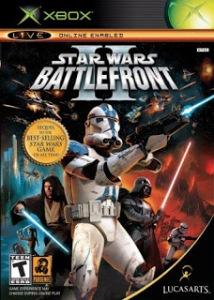 Star Wars: Battlefront II Microsoft Xbox boxart EA games