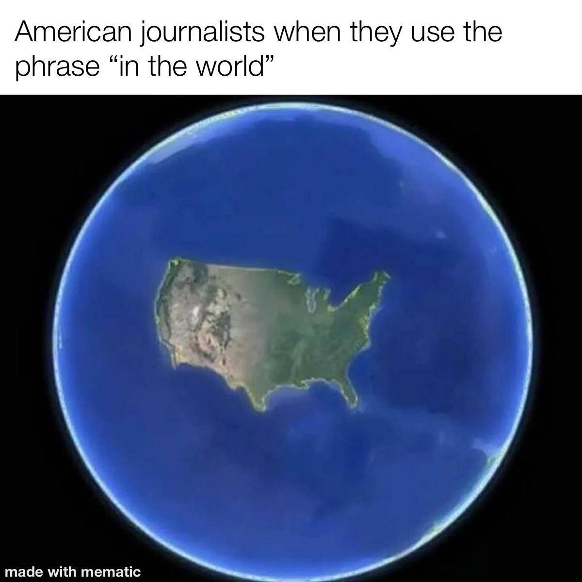 Memes American journalist