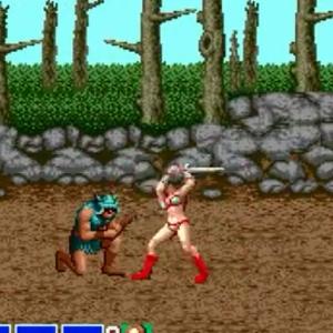 Tyris Flare sword golden axe Sega genesis arcade