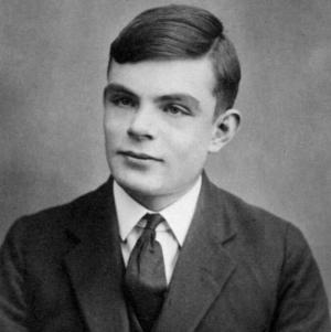 Alan Turing young man