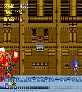 Mecha Sonic destroyed Sonic the Hedgehog 2 Sega genesis Sega mega drive