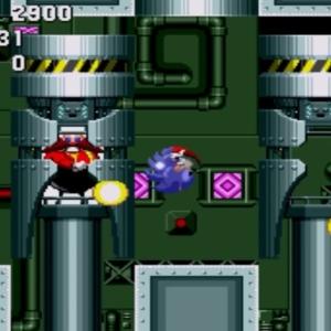 Sonic vs Dr robotnik Final Zone sonic the Hedgehog 1 Sega genesis Sega mega drive