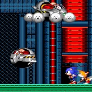 Flying Eggman Dr robotnik clone Sonic the Hedgehog 2 Sega genesis Sega mega drive