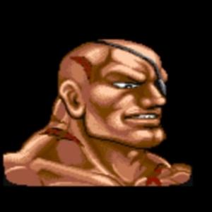 Sagat Street fighter II snes arcade Capcom
