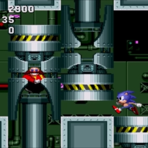 Final Zone boss sonic the Hedgehog 1 Sega genesis Sega mega drive