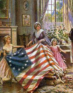 Betsy Ross original American flag