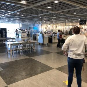 Large cafeteria IKEA Charlotte north Carolina