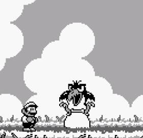 Big Bird boss Super Mario Land 2 Nintendo Gameboy