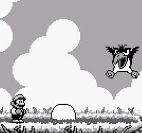 Big Bird boss battle Super Mario Land 2 Nintendo Gameboy