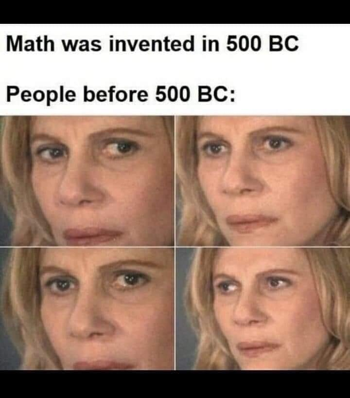 Memes The invention of math