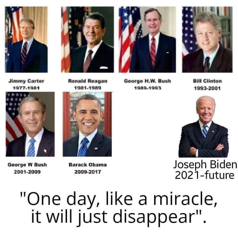 Memes Donald Trump presidency erased