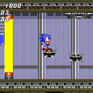 Sonic the Hedgehog 2 Barrier Eggman boss battle Sega genesis Sega mega drive