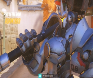 OverWatch play of the game Reinhardt Nintendo switch Xbox One PS4 PlayStation 4 blizzard PC Microsoft Windows