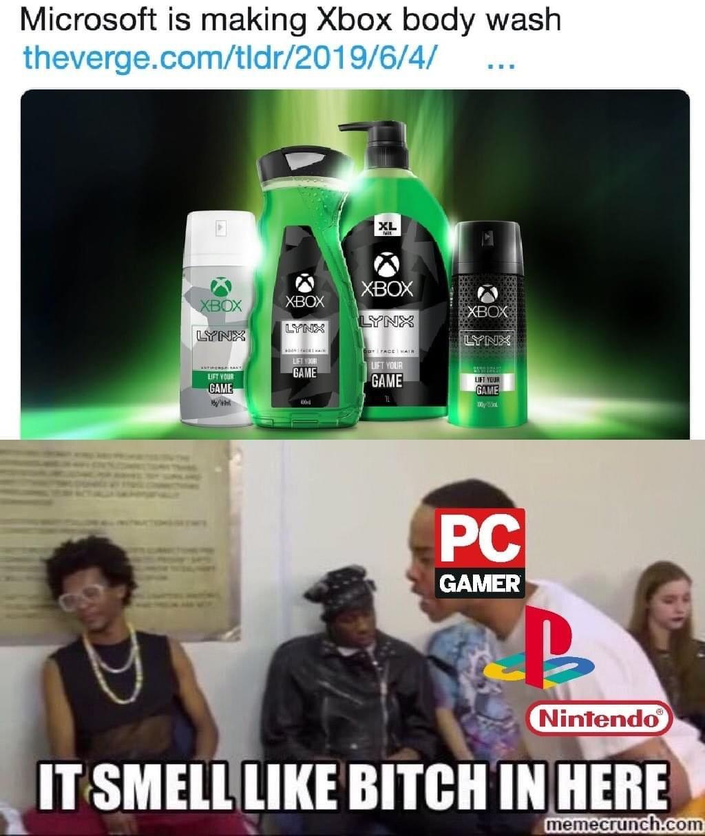 Memes Microsoft Xbox
