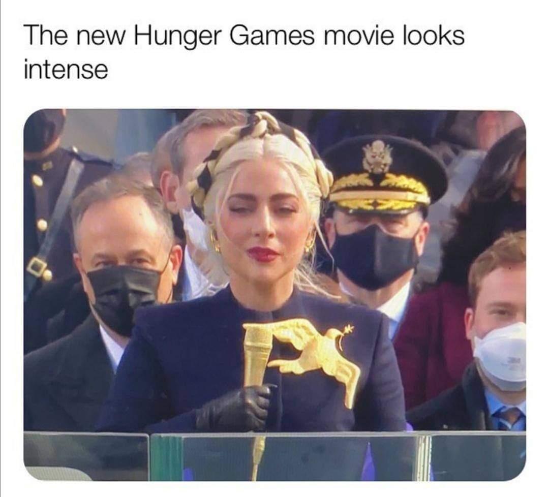 Memes memes Lady Gaga the hunger games