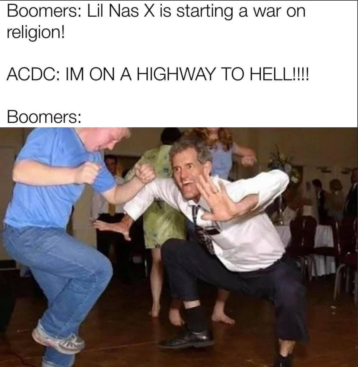 Memes AC/DC Highway to Hell