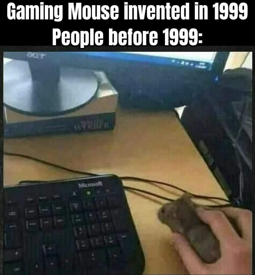 Memes PC gaming mouse
