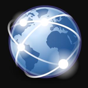 Internet symbol world wide web