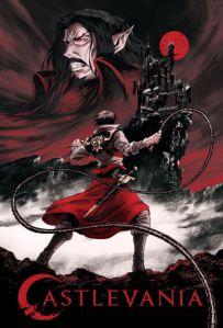 Castlevania Netflix poster season 2 Trevor Belmont and count Dracula