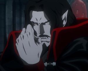 Vampire king Dracula declares war on all humanity Castlevania Netflix season 2