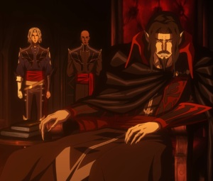 Isaac and Hector Report to count Dracula Castlevania Netflix season 2