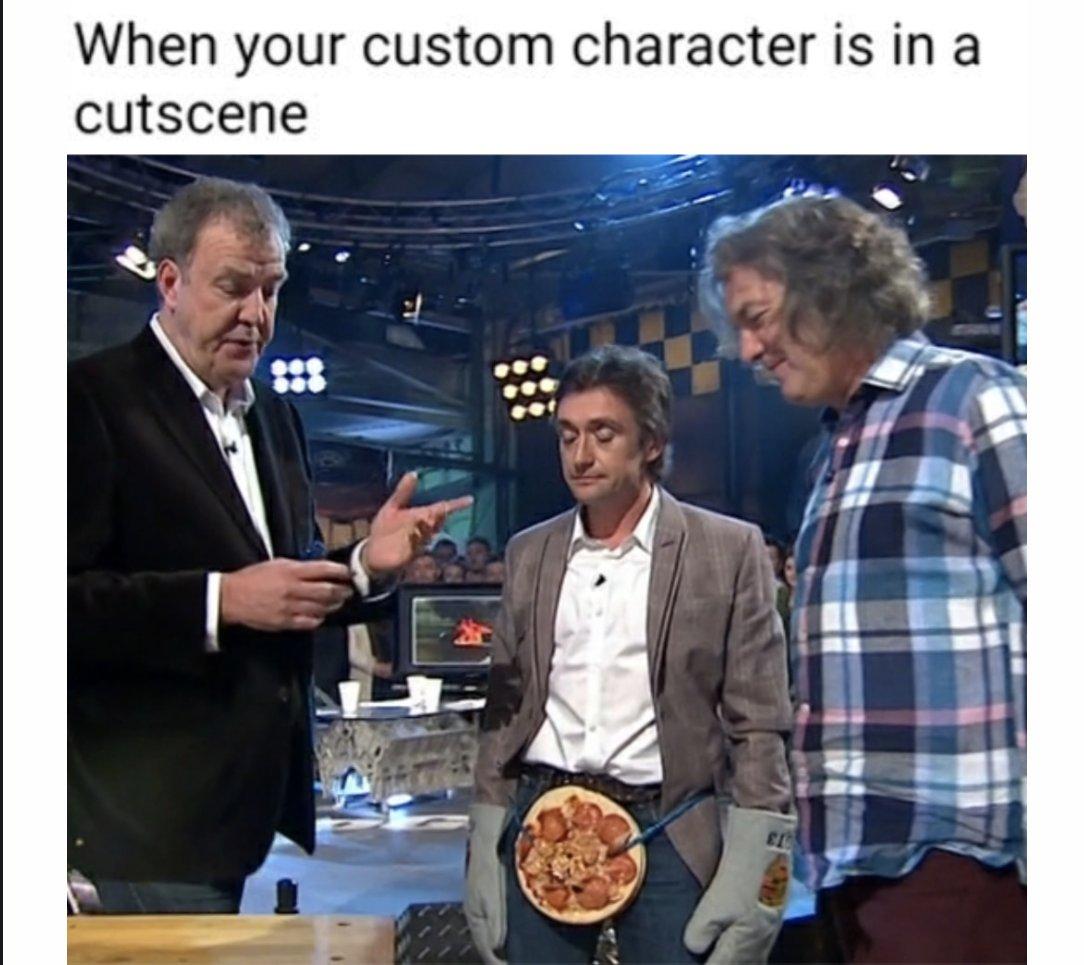 Memes Custom character cut scene
