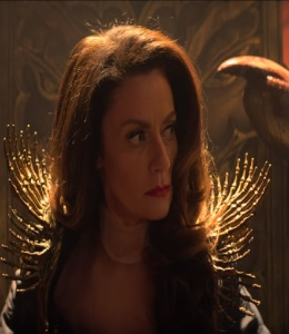 Lilith as the queen of hell chilling adventures of Sabrina Michelle Gomez