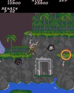 Contra original arcade version Konami