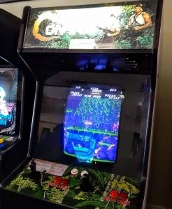 Contra arcade cabinet machine Konami