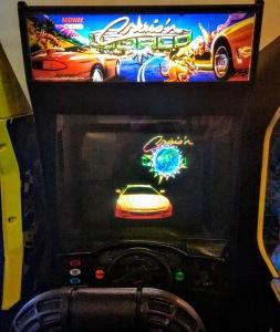 Cruis'n World arcade cabinet machine Midway Nintendo