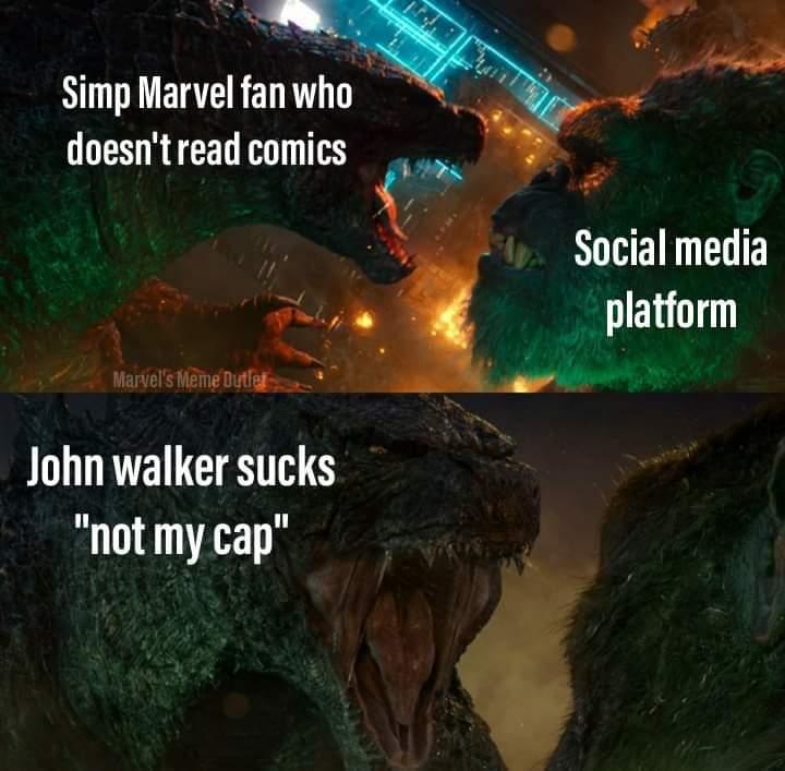 Memes John walker US agent